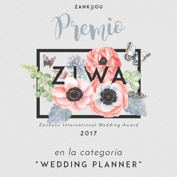 Zankyou International Wedding Award 2017