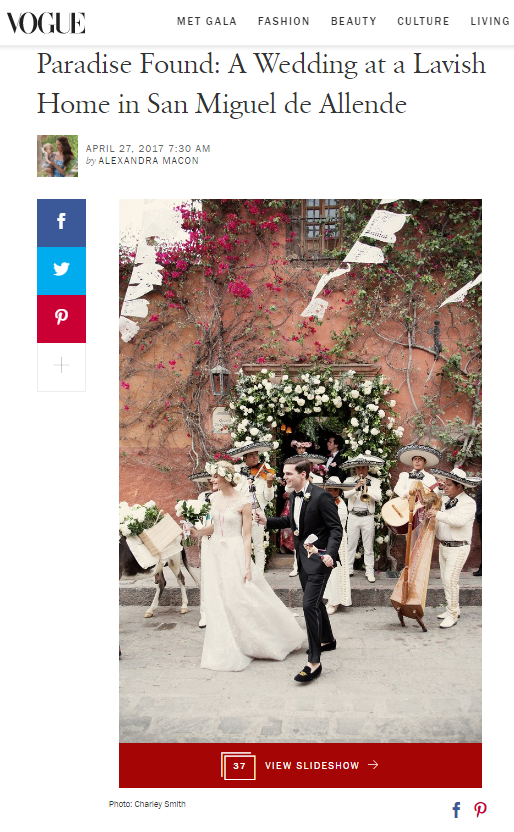 Penzi Weddings Featured on Vogue US